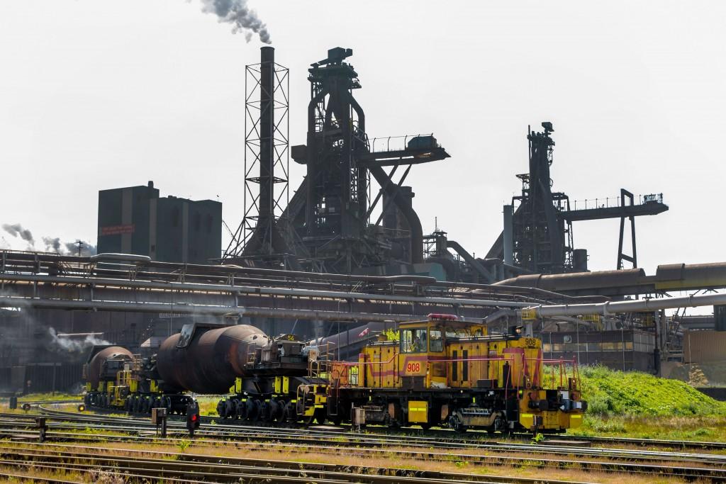Schonere locomotieven Tata Steel