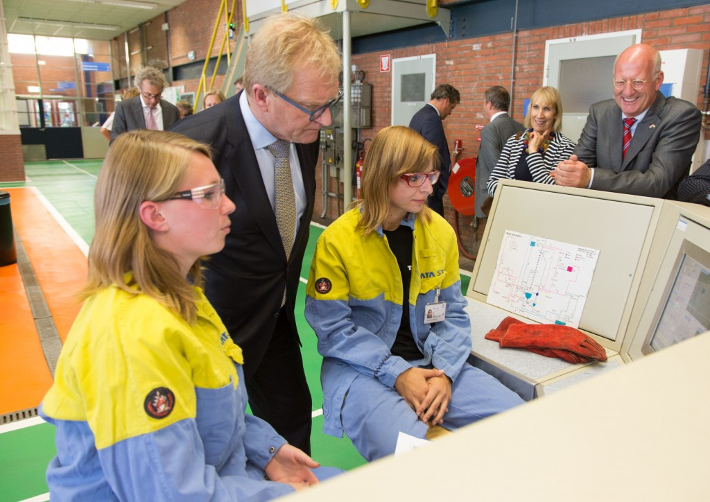 Hans de Boer bezoekt Tata Steel