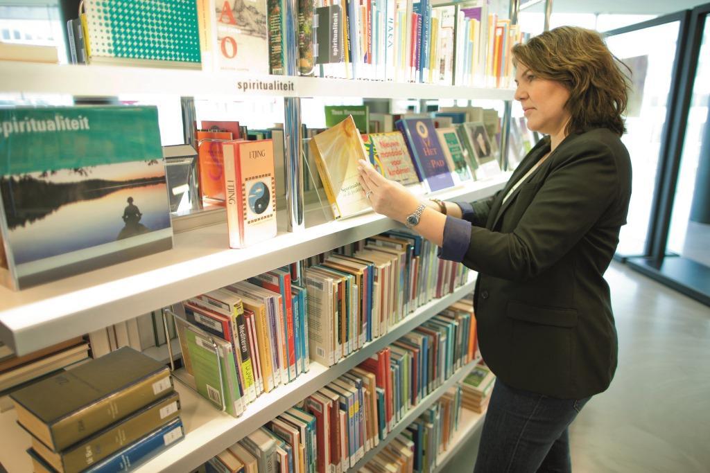 Landelijk boeken lenen bij de bieb