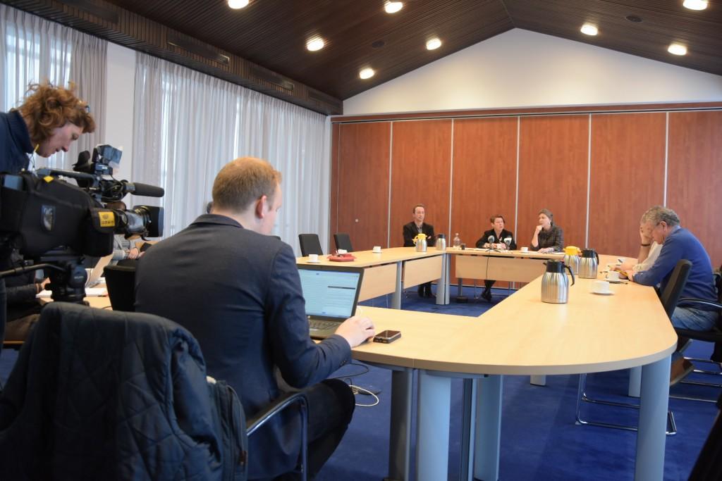 Persconferentie Velsen