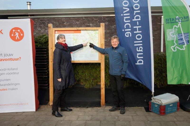 200 km wandelroutes geopend
