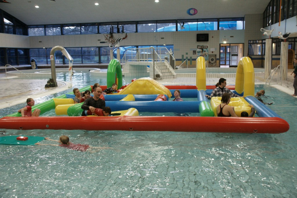 Zwembadsurvival bij WVIJ
