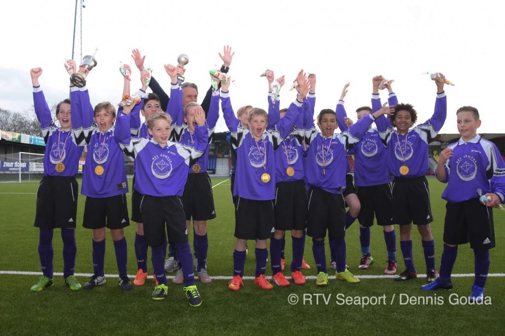 Spannende finale Schoolvoetbal