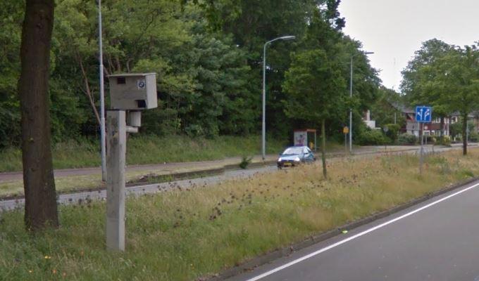 Flitspaal Parkweg verdwijnt voorgoed