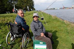Visdag voor gehandicapten