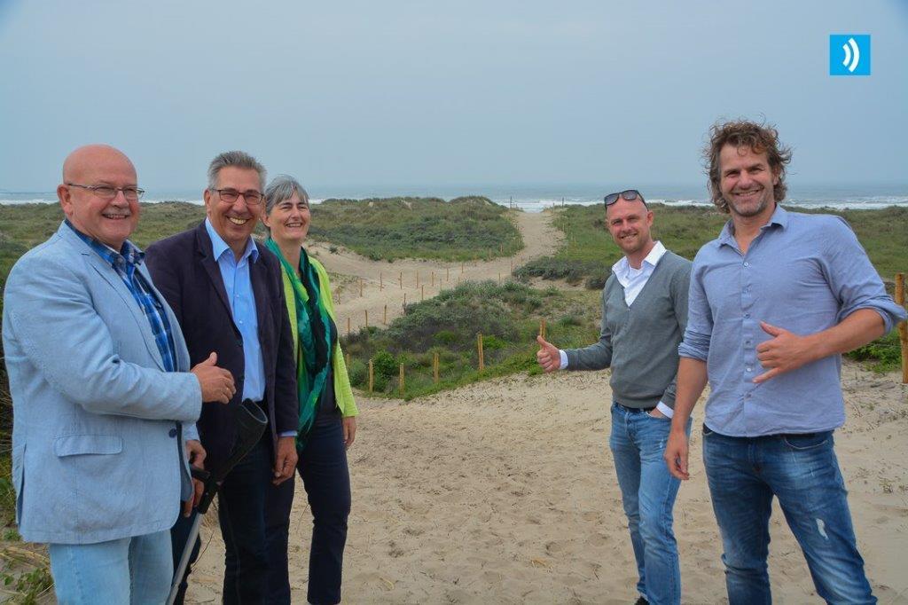 Opening strandopgang Velsen-Noord (2)