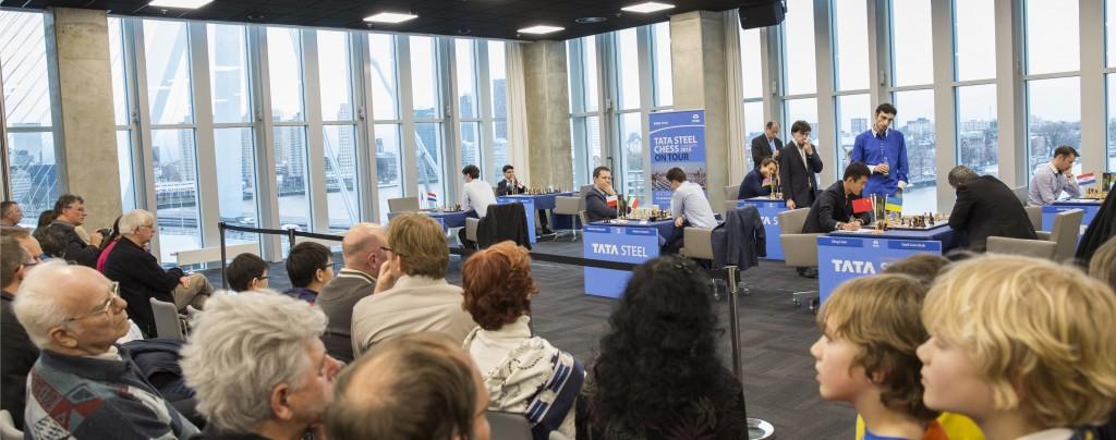 Tata Steel Chess On Tour in De Kuip