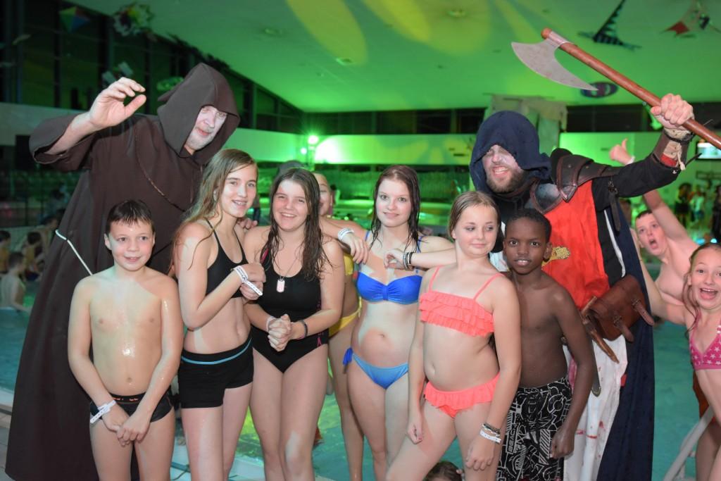 Halloween in zwembad De Heerenduinen