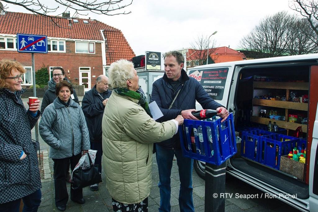 De SRV man in Oud IJmuiden