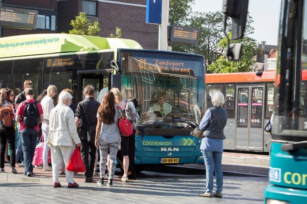 Busvervoer over drie jaar elektrisch