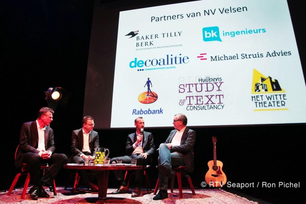 Talkshow NV Velsen in teken van wind