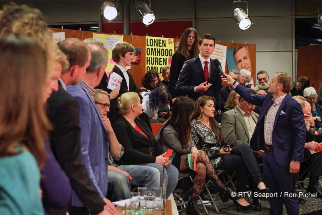 Vandaag jongeren- & slotdebat live op tv