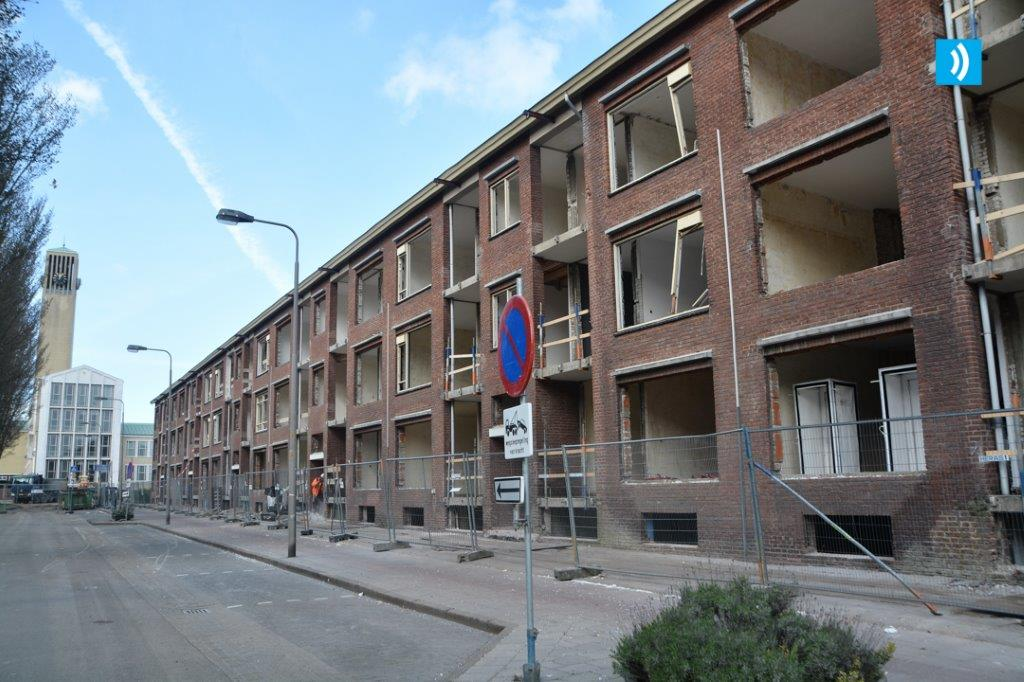 Renovatie flats noordzijde de Noostraat