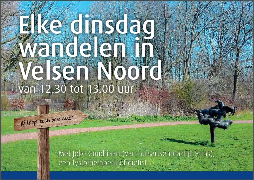 Wandelgroep Velsen-Noord een succes