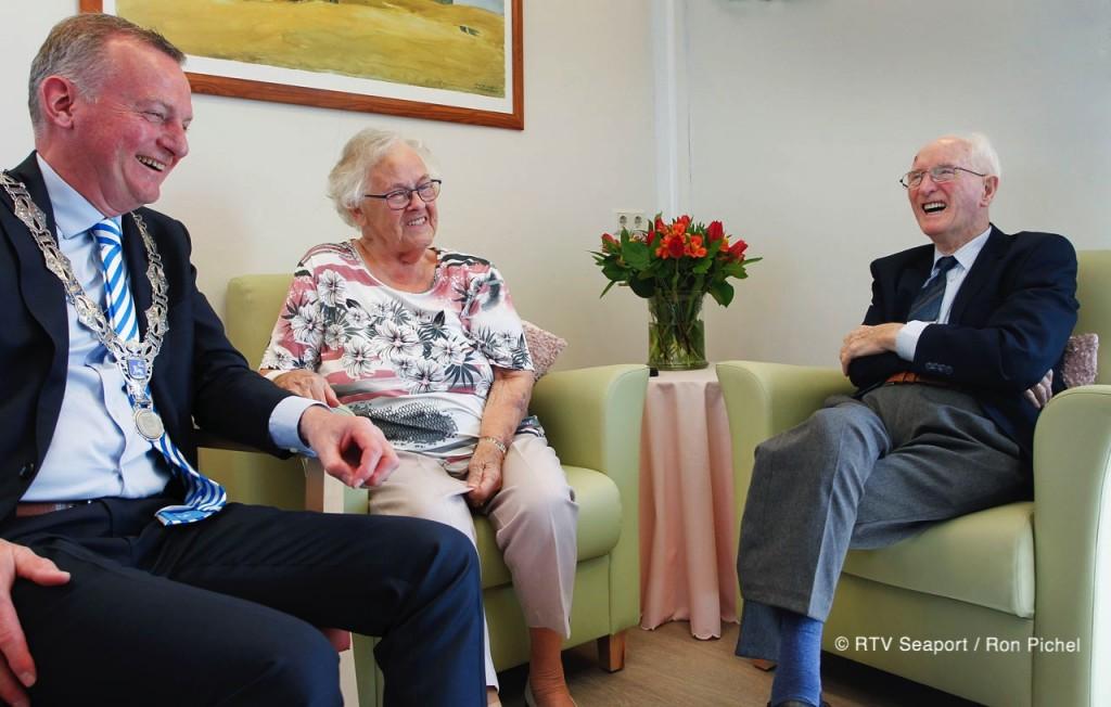 Echtpaar Korf-Zijlstra 65 jaar getrouwd