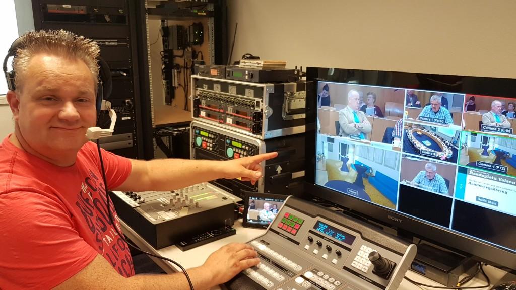 Zes sessies live op Raadsplein TV