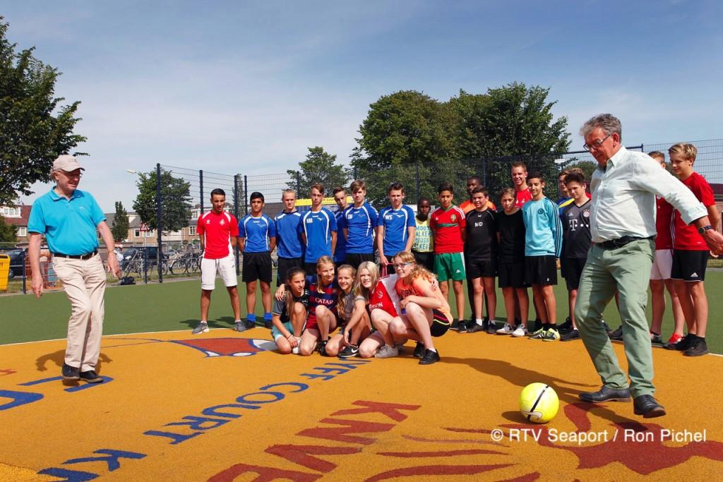 Street League afgetrapt op Cruijff Court