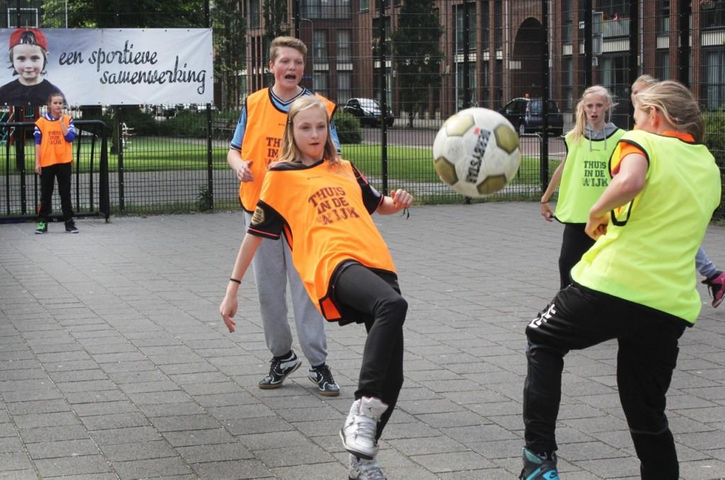 Woensdag Street League in Velsen-Noord
