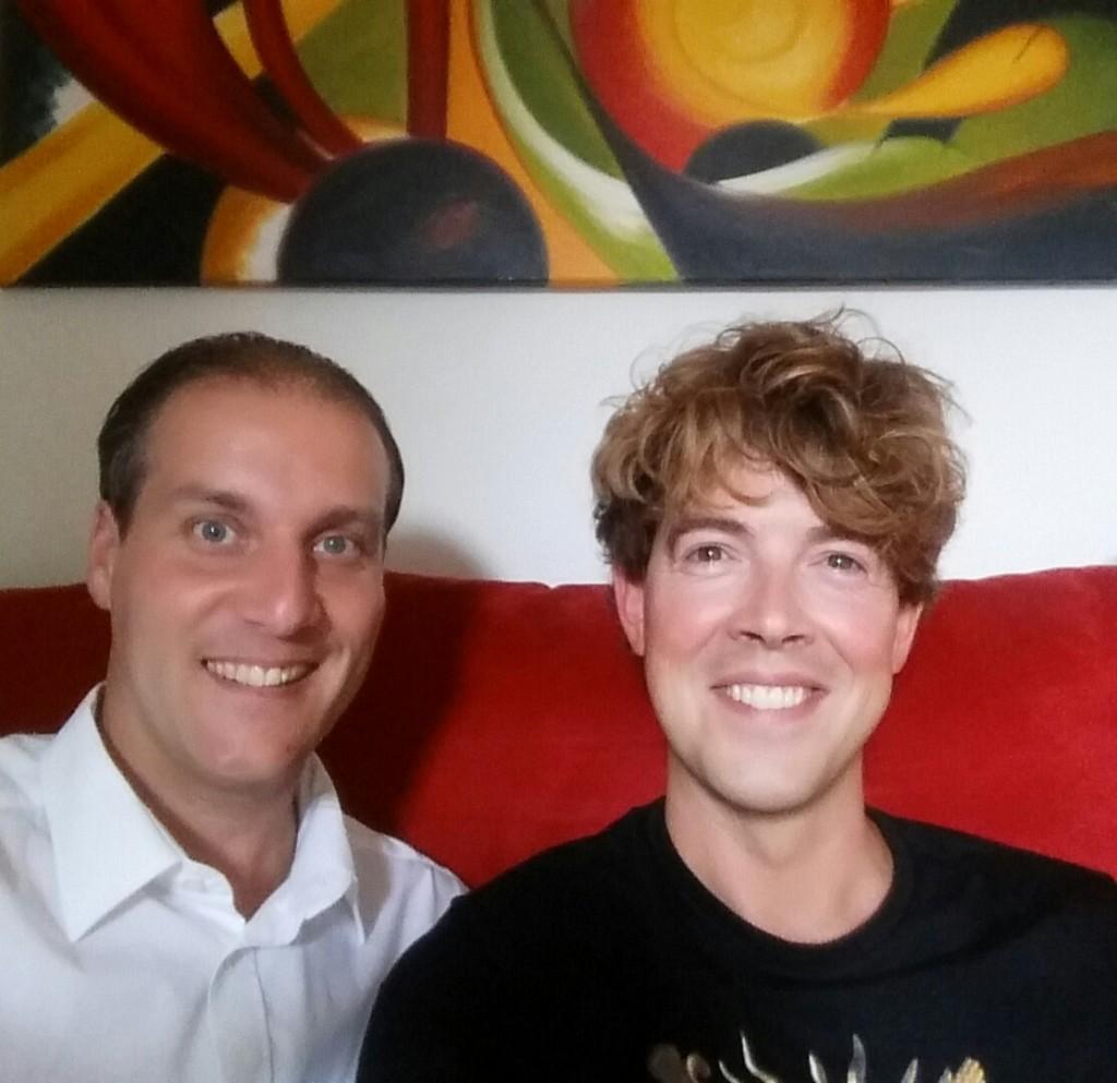Mark Metselaar en Vincent Boot