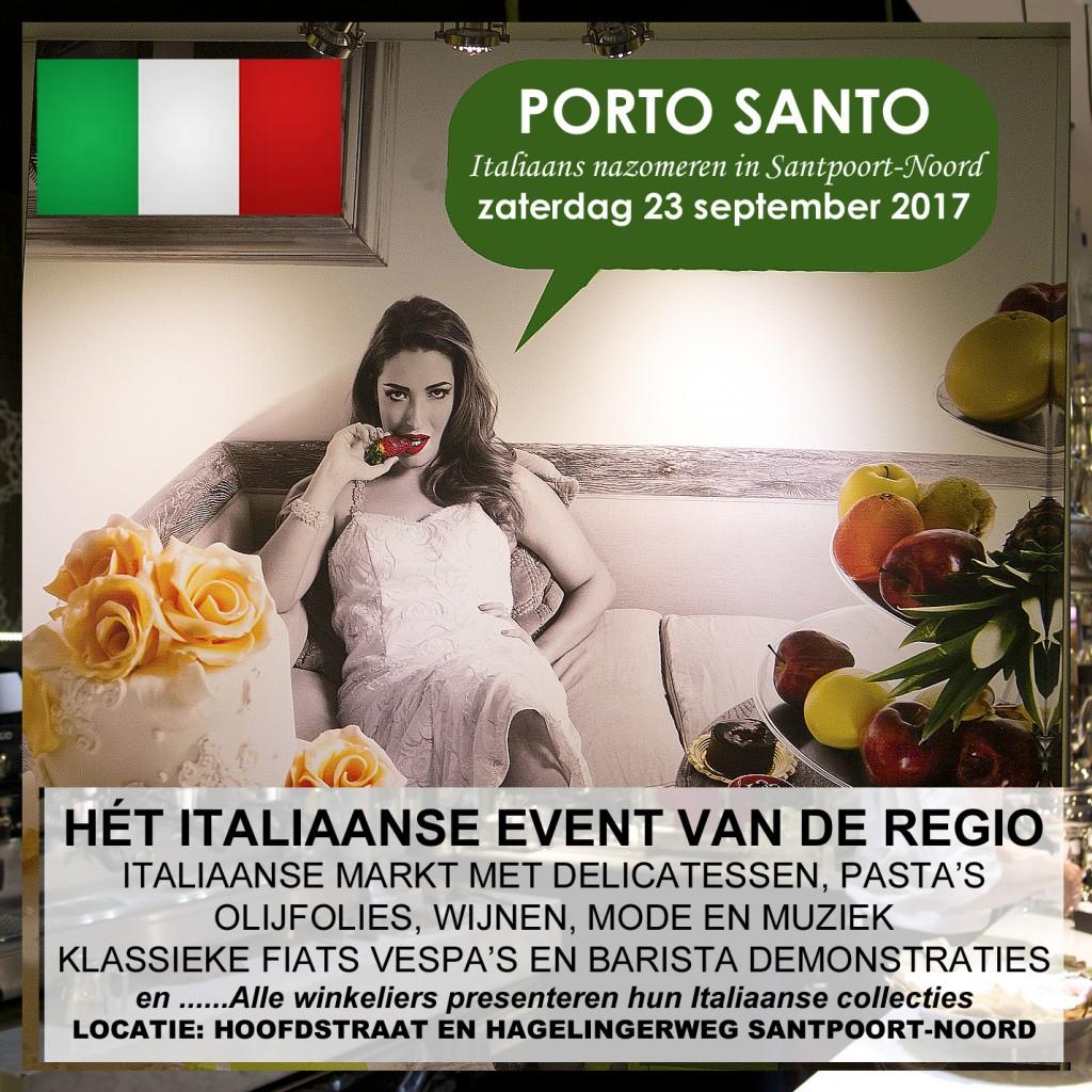 Santpoort-Noord gaat Italiaans