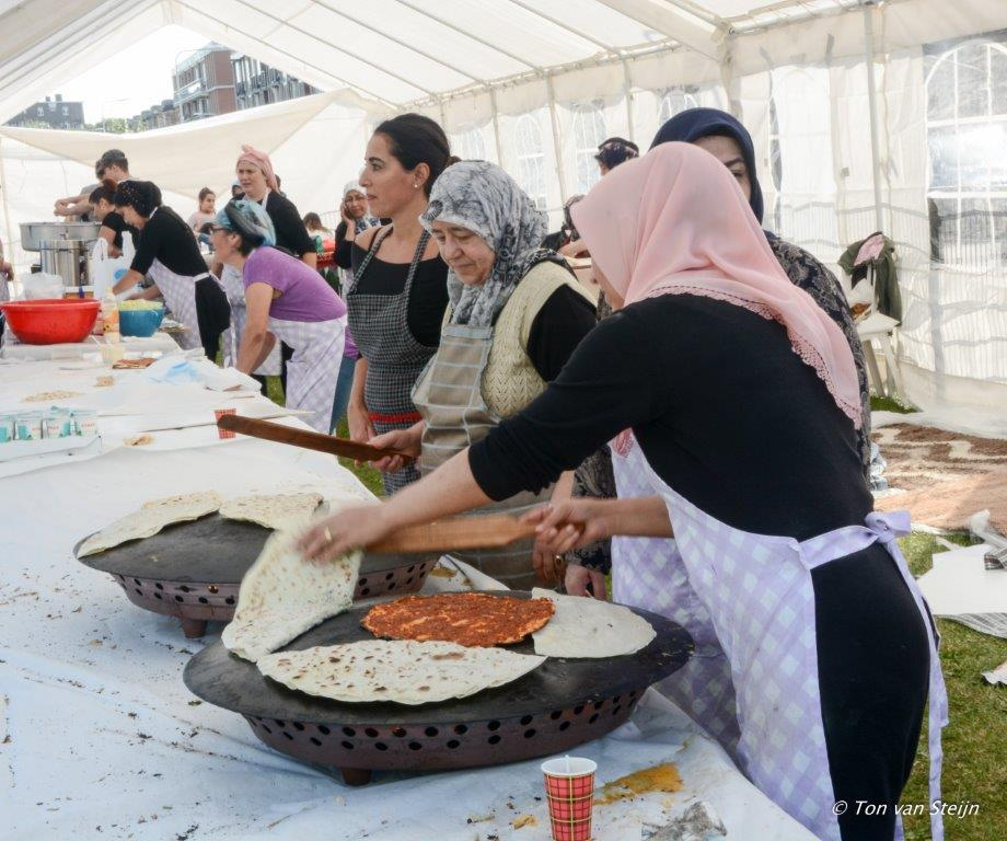Cultuur & food festival bij de  Kuba Moskee