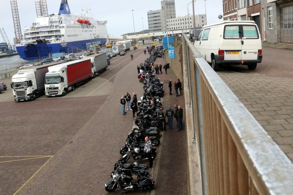 2014-10-14 Crematie Hells Angel IJmuiden 05