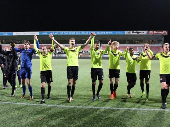 Telstar na winst in Helmond op 4e plaats