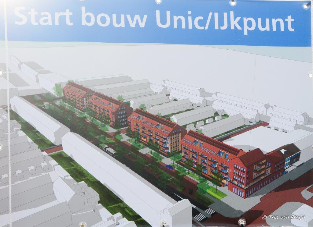 Nieuwbouw noordkant Lange Nieuwstraat van start