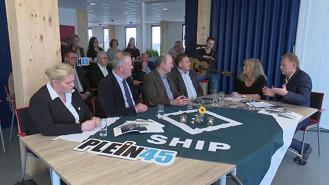 Tv-talkshow Plein 45 vanuit SHIP