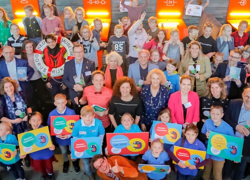 Minister Ingrid van Engelshoven reikte de kidsproof awards uit