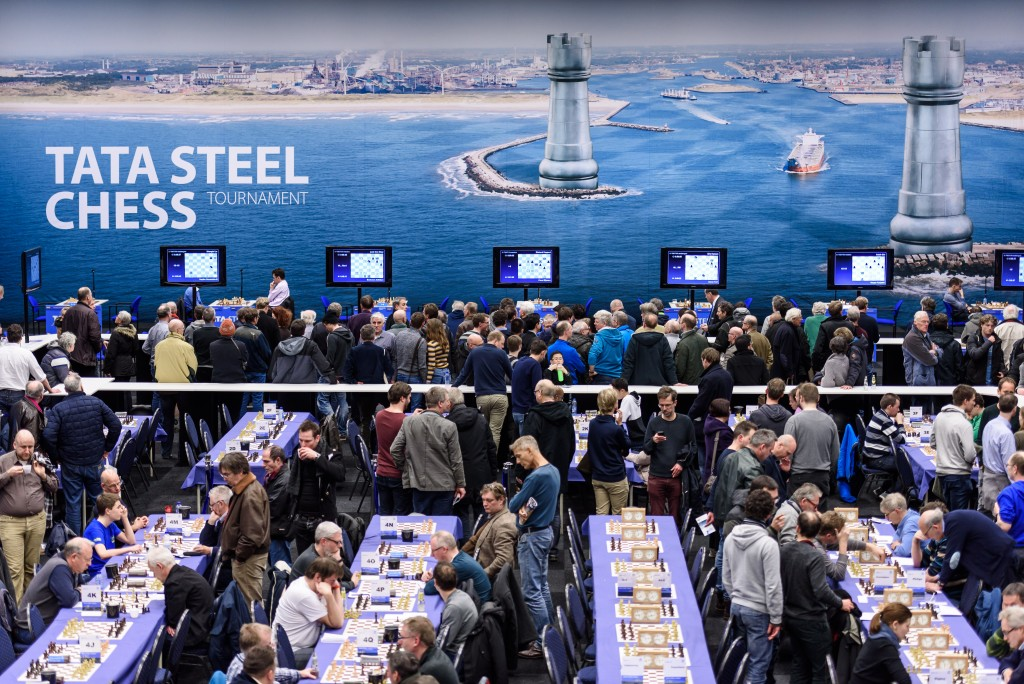 Inschrijving amateurs Tata Steel Chess 2018 geopend