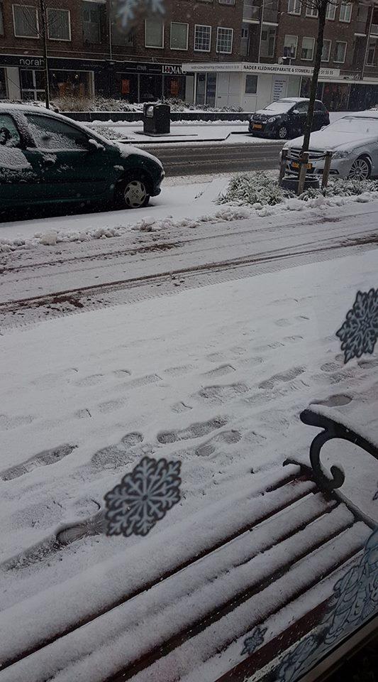 Sneeuw Tiffany van Baar
