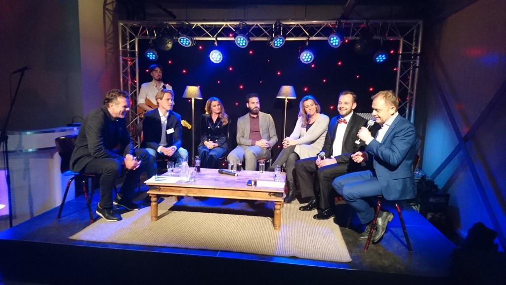 Talkshow NV IJmond over netwerk-etiquette
