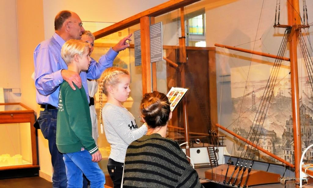 Zee- en Havenmuseum tijdens kerstvakantie geopend.