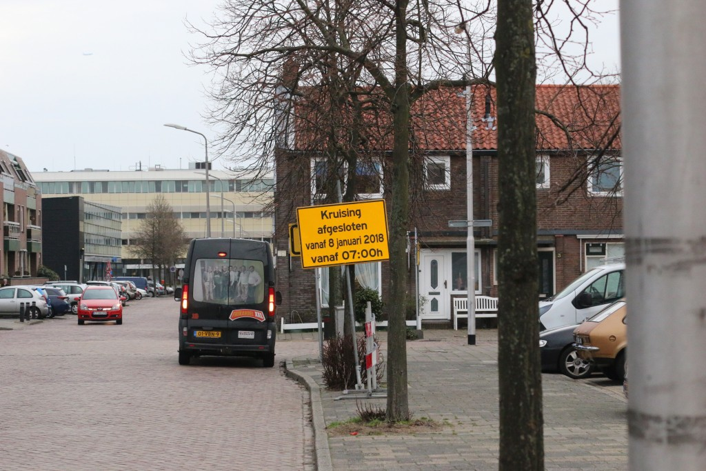 Werkzaamheden Kruising Kalverstraat/Engelmundusstraat