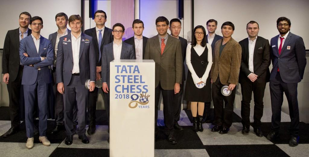 80e editie Tata Steel Chess Tournament van start