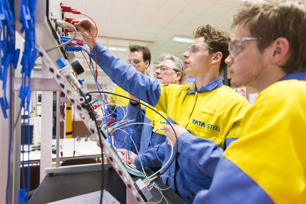 leerlingen Tata Steel Academy