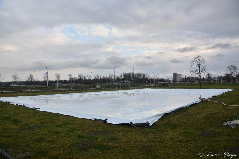 Geen schaatsbaan in Santpoort-Noord