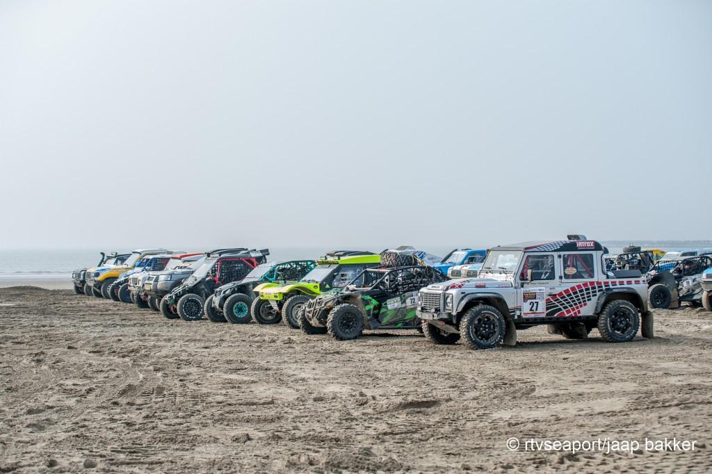 NK Off Road op het strand van IJmuiden