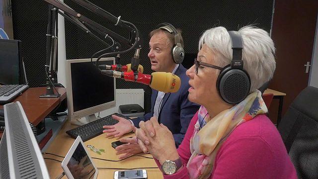 Radio ook actief tijdens verkiezingsdag