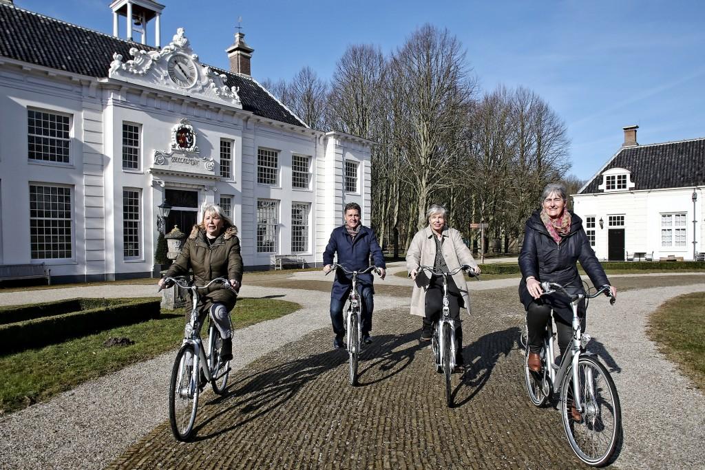 Nieuwe fietsroute 'Langs buitenplaatsen en kastelen'