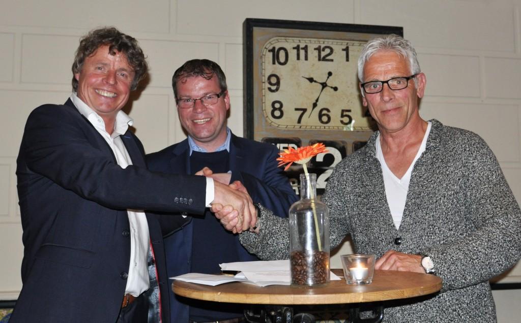 RKVV Velsen een mooie avond met sponsoren