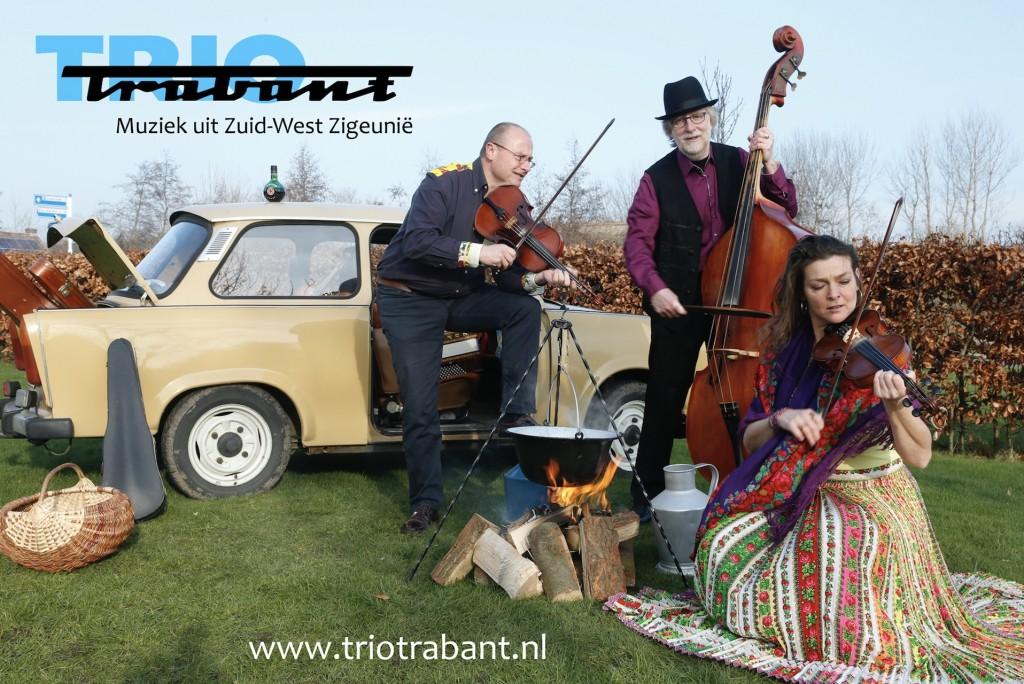 Trio Trabant en Duo viool en fagot in 't Mosterdzaadje.