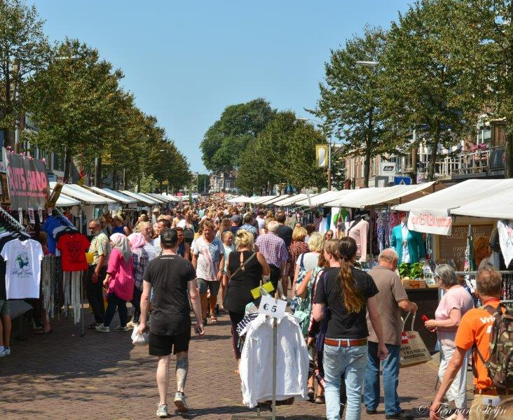 Kilometer lange jaarmarkt IJmuidenfestival