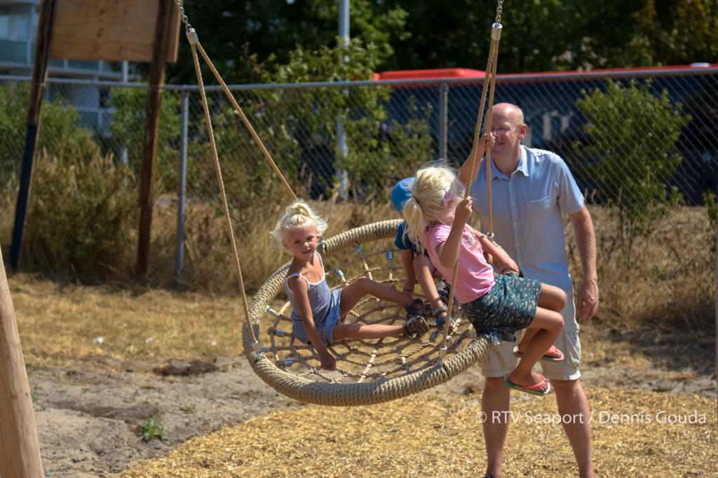 Speeltuin Zeewijk Natuurlijk officieel geopend