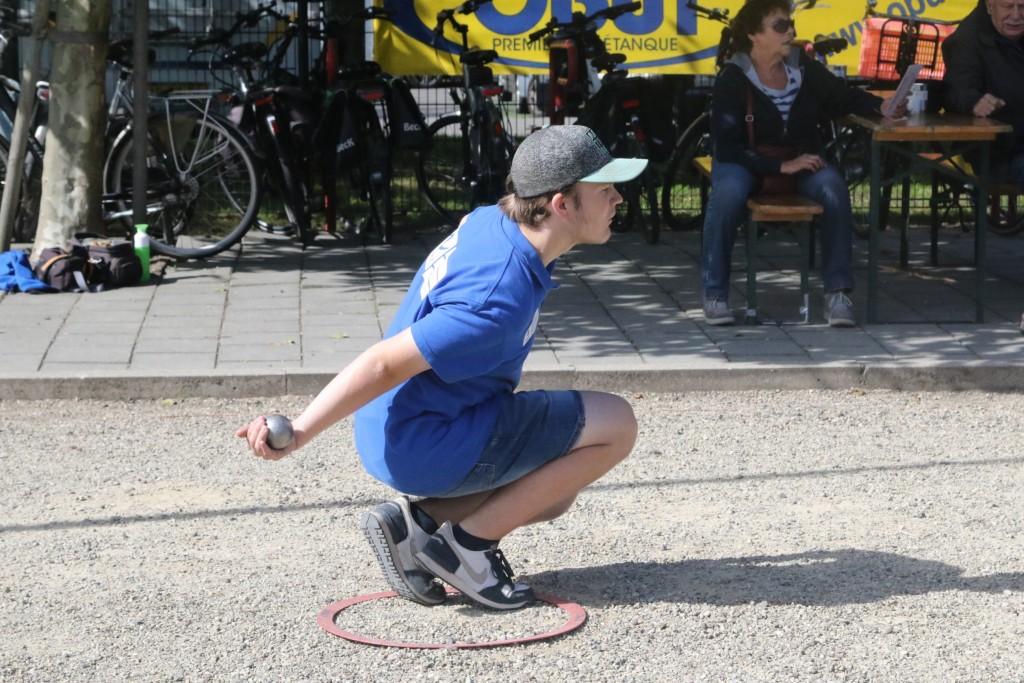 """Onbekende sport"" Petanque of Jeu de Boules"