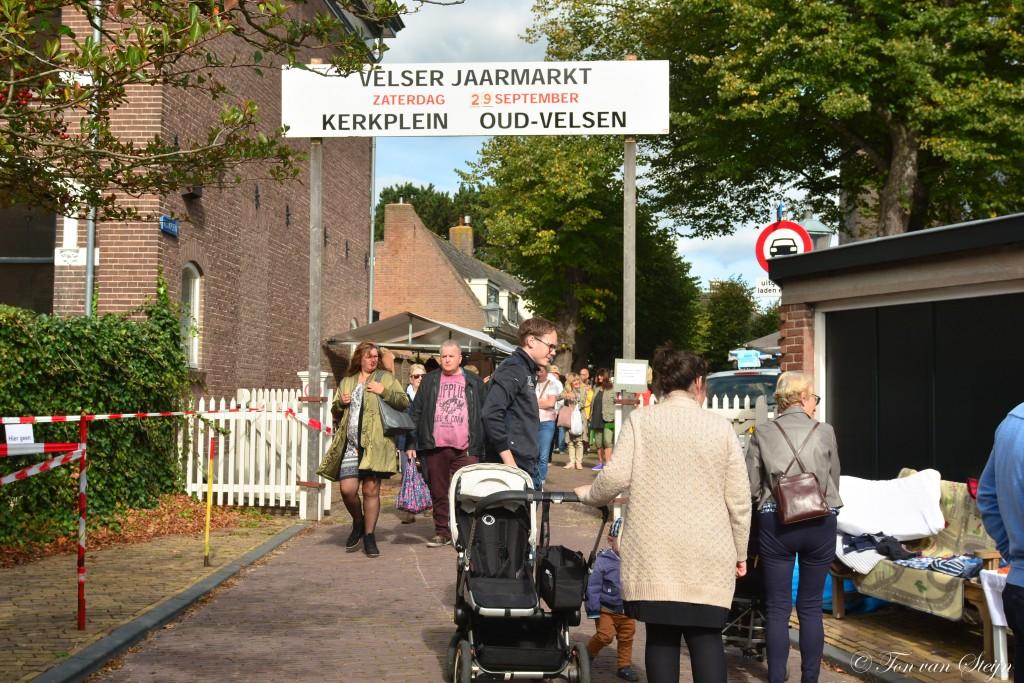 Druk bezochte Jaarmarkt in Velsen-Zuid