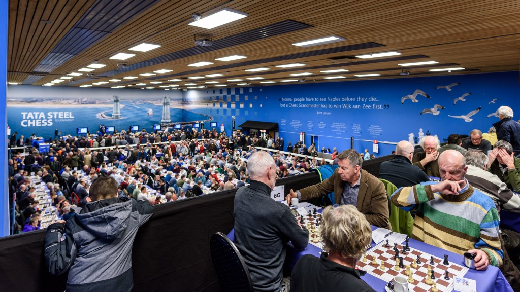 Inschrijving amateurs Tata Steel Chess