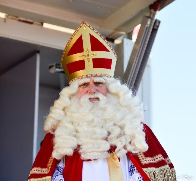 Zaterdag zet Sinterklaas voet aan wal
