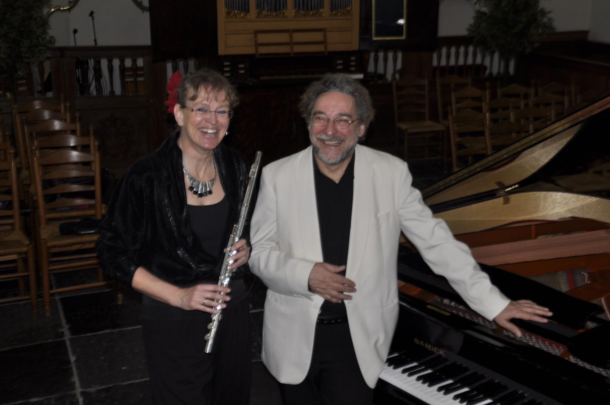 Duo Fluit en Piano in 't Mosterdzaadje